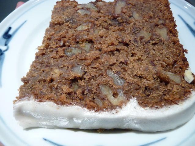Dan Lepard's tamarind date walnut cake