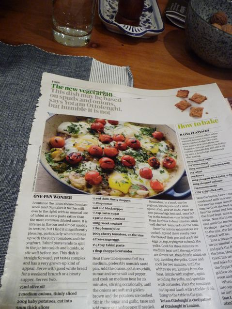 ottolenghi in the Guardian