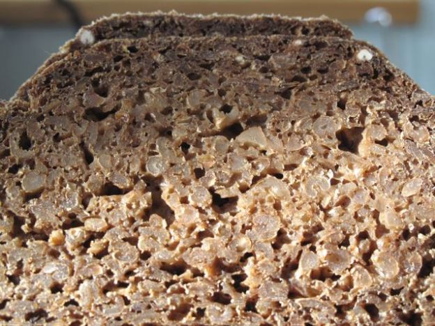 Horst Bandel Crumb rye bread