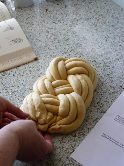 challah winston knot