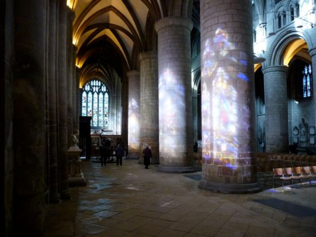 Gloucester Cathedral light