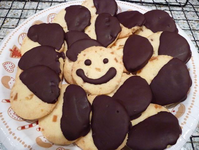 Zamrożony deser czekoladowy