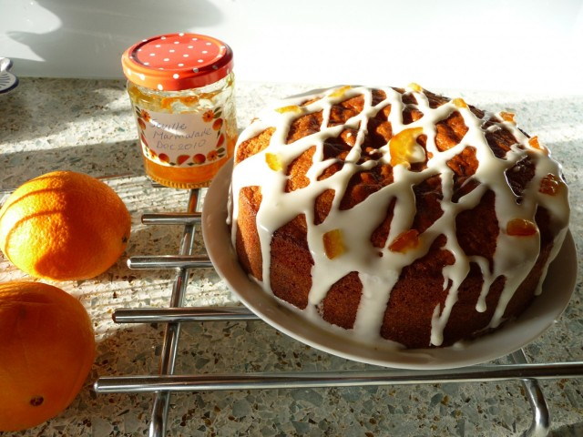 Nigel Slater's Frosted Orange Marmalade Cake