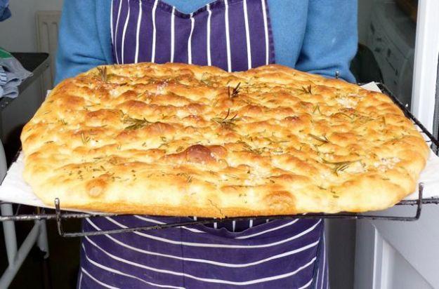 olive oil bread Dan Lepard foccacio sunshine