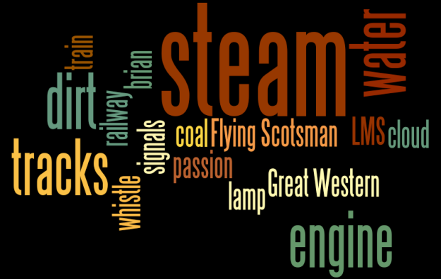 Bigdog's steam wordle