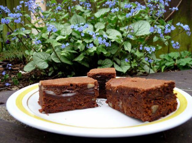 Chocolate After Eight Brownies David Liebovitz