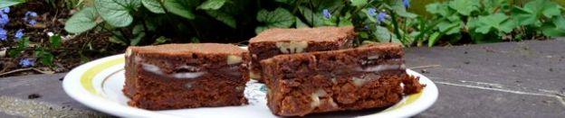 Chocolate Mint Pecan Brownie Header
