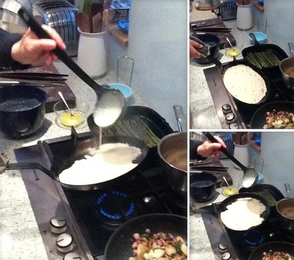 Making Evening Pancakes, Scandilicious