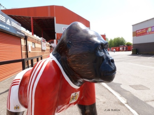 Alfred Bristol City Gorilla