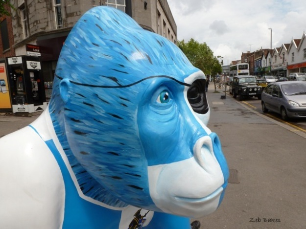 irene Bristol Rovers Gorilla Wow