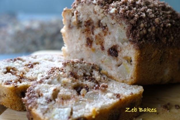 Chocolate Autumn Apple Cake