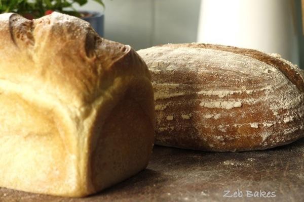 creme fraiche loaf, swiss dark hybrid