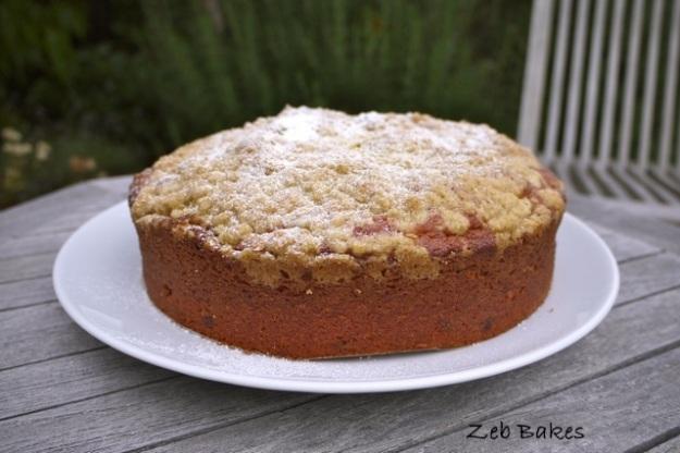 Dan Lepard Passionfruit crumble cake