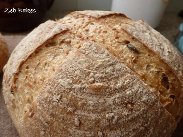 Jeffrey Hamelman Sourdough Seed Bread