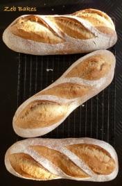 Zeb Bakes Bread