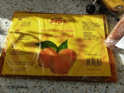 apricot paste