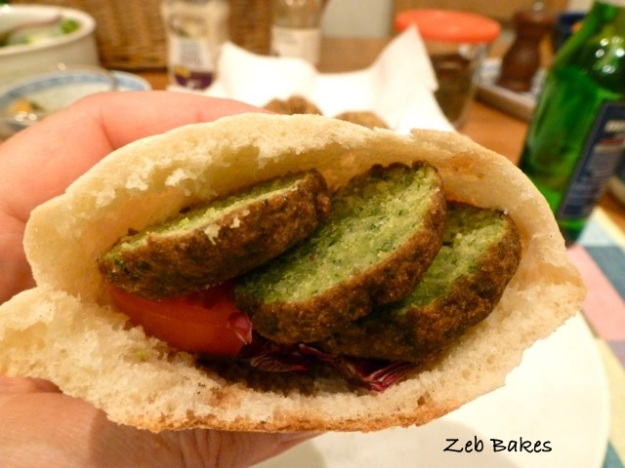 Falafel with Fava Beans and Chickpeas | Zeb Bakes