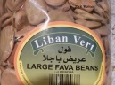 Fava beans from Lebanon