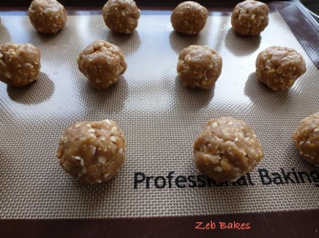Peanut cookies Dan Lepard Short & Sweet