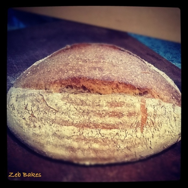 100% Spelt Sourdough, the loaf in Crich