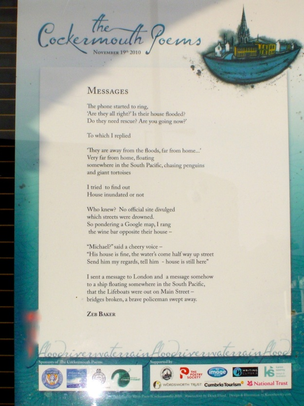 Cockermouth Poets, Poetry Trail