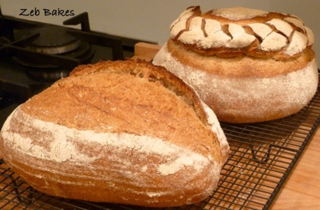 sourdough, homage to Metfield Bakery