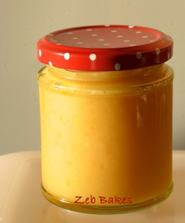 Lemon Curd by Zeb Bakes
