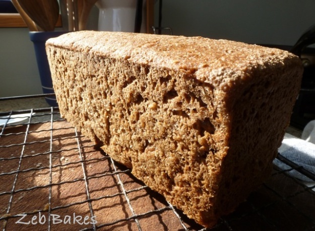 Misky's Danish Rye Bread
