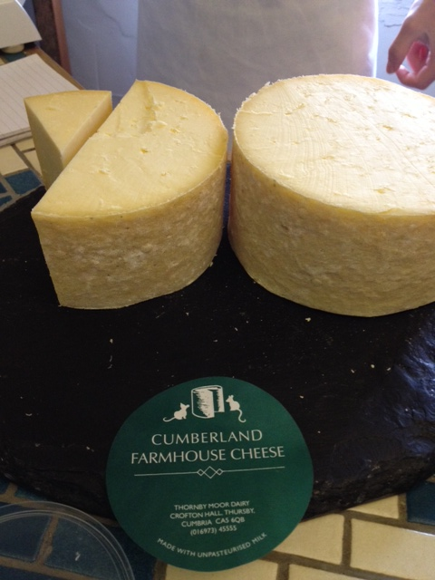 Cumberland Farmhouse Cheese from Thornby Moor Dairy, Carlisle