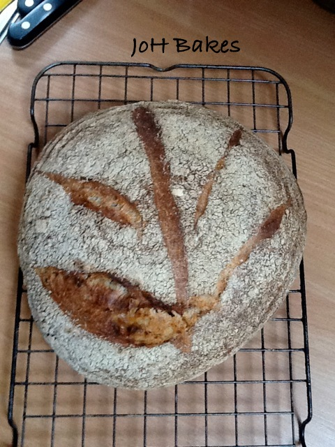JoH Bakes Beautiful Sourdough