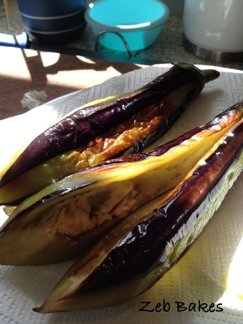 Golden Aubergine for Iman Biyaldi