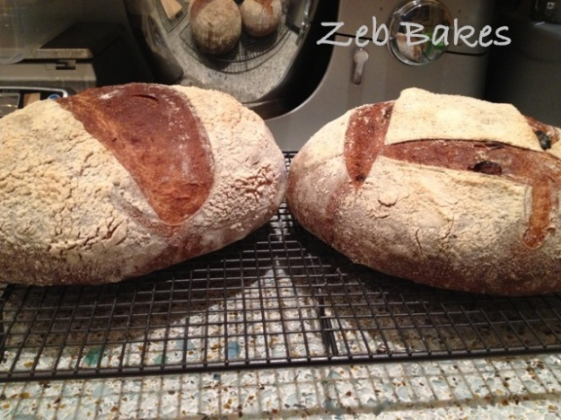 Raisin Kefir Bread Cooling Copyright Zeb Bakes