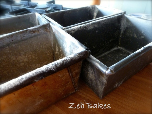 Old faithful bread tins