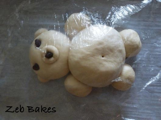 unbaked bread bear