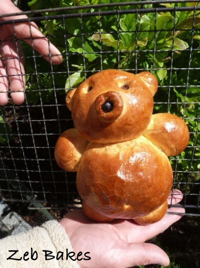 Golden Bread Bear