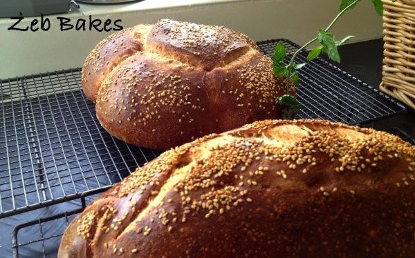 Date Syrup Kefir Bread