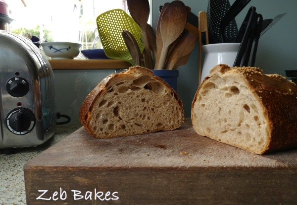 Date Syrup Kefir Bread Crumb shot