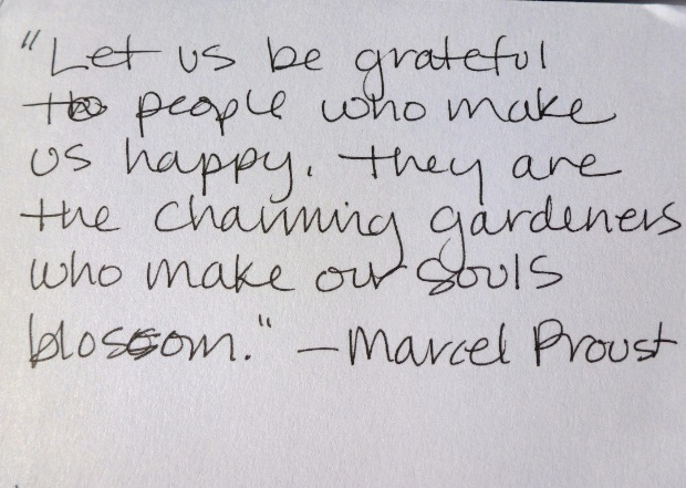 Beautiful Quote from Proust