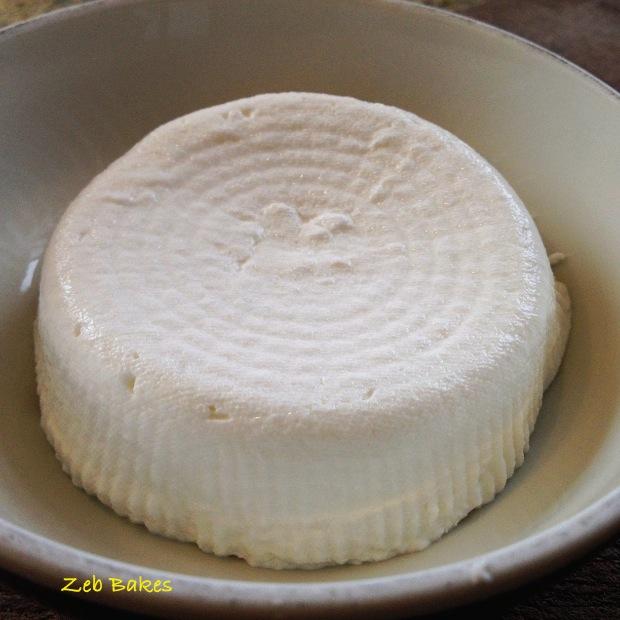 Goats Milk Kefir Cheese