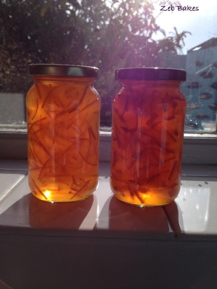 Seville Marmalade made to a Viv Lloyd recipe
