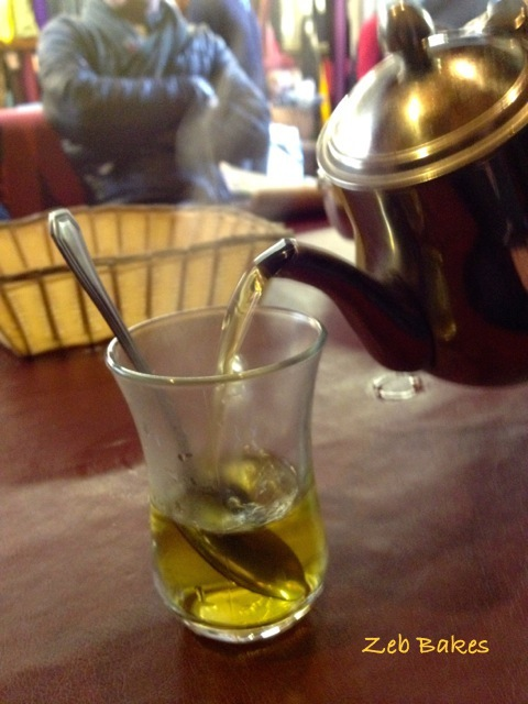 Fresh Mint Tea at Matina in St Nicholas's Market, Bristol